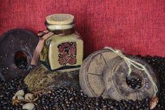 Cara azteca 4 foto de archivo libre de regalías