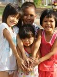 Cara bonita, preciosa, niños asiáticos Imagenes de archivo