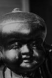 Cara Buddha Foto de archivo