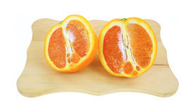 Cara Cara Navel Orange Sliced Stock Images