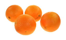 Cara Cara Navel Oranges Group. A group of four large Cara Cara navel oranges royalty free stock photos