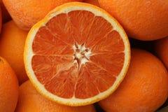 Cara Cara orange, Citrus sinensis 'Cara Cara' Stock Photos