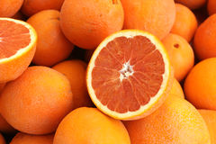 Cara Cara orange, Citrus sinensis 'Cara Cara' Royalty Free Stock Photos