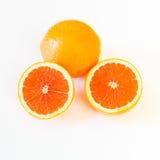 Cara cara pomarańcze z różowawym czerwonego koloru wnętrzem. obraz stock
