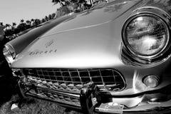 Cara clásica del coche de deportes de Ferrari Fotografía de archivo libre de regalías