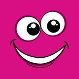 Cara cor-de-rosa Fotos de Stock Royalty Free