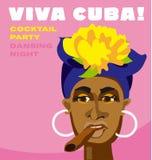 Cara cubana de la mujer Imagen de archivo libre de regalías