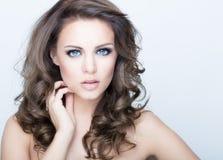 Cara da beleza Fotos de Stock Royalty Free