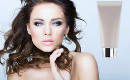 Cara da beleza Imagens de Stock Royalty Free