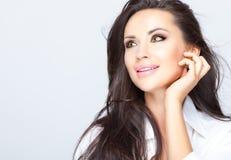 Cara da beleza Imagem de Stock