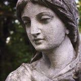 Cara da deusa do Afrodite do amor (Vênus) fotografia de stock royalty free