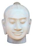 Cara da escultura de buddha Imagens de Stock Royalty Free