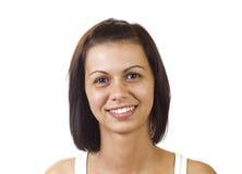 A cara da jovem mulher bonita imagens de stock royalty free