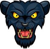 Cara da mascote da pantera Imagens de Stock