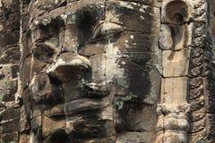 Cara da pedra Imagem de Stock