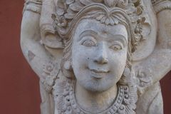 Cara da pedra Imagem de Stock Royalty Free