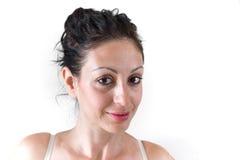 Cara da pele da mulher Imagem de Stock Royalty Free