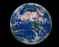 Cara de África de la tierra Foto de archivo libre de regalías