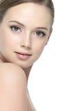 Cara de adolescente hermoso atractivo Imágenes de archivo libres de regalías