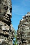 Cara de Angkor Fotografía de archivo