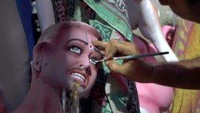 Cara de Asura, el demonio del ídolo de la arcilla metrajes