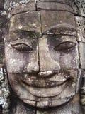 Cara de Bayon Imágenes de archivo libres de regalías
