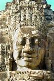 Cara de Bayon, Camboya Foto de archivo