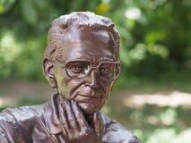 Cara de bronce Fotografía de archivo libre de regalías