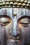 Cara de Buddha Imagenes de archivo