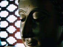 Cara de Buddha Imagen de archivo libre de regalías