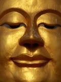 Cara de Buddha de la sonrisa fotografía de archivo