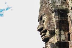 Cara de cinzeladura de pedra Foto de Stock Royalty Free