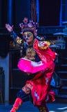 Cara de la ópera de Sichuan Fotografía de archivo libre de regalías
