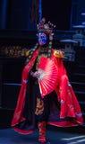Cara de la ópera de Sichuan Imagen de archivo libre de regalías