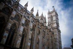 Cara de la abadía de Westminster Fotos de archivo