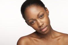 Cara de la belleza Fotografía de archivo libre de regalías