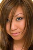 Cara de la belleza Dee Imagenes de archivo
