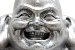 Cara de la estatua Poe-Tai Ho-Shang de Buddha Fotos de archivo