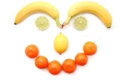 Cara de la fruta Imágenes de archivo libres de regalías