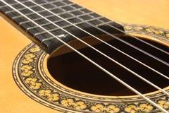 Cara de la guitarra Fotos de archivo
