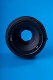 cara de la lente de 50m m Imagen de archivo