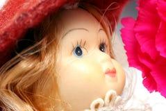 Cara de la muñeca. Fotografía de archivo