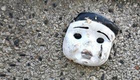 Cara de la muñeca Fotografía de archivo libre de regalías