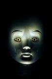 Cara de la muñeca del niño que frecuenta imagenes de archivo