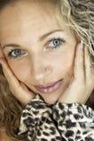 Cara de la muchacha fotos de archivo libres de regalías