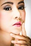 Cara de la mujer Fotografía de archivo libre de regalías