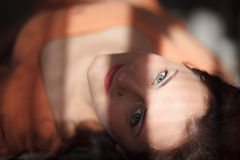 Cara de la mujer Imagenes de archivo