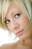 Cara de la mujer de la belleza Fotografía de archivo libre de regalías