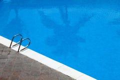 Cara de la piscina Imágenes de archivo libres de regalías