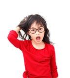 Cara de la pregunta fotografía de archivo libre de regalías